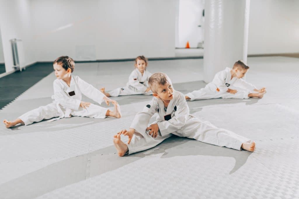 Starting martial arts training